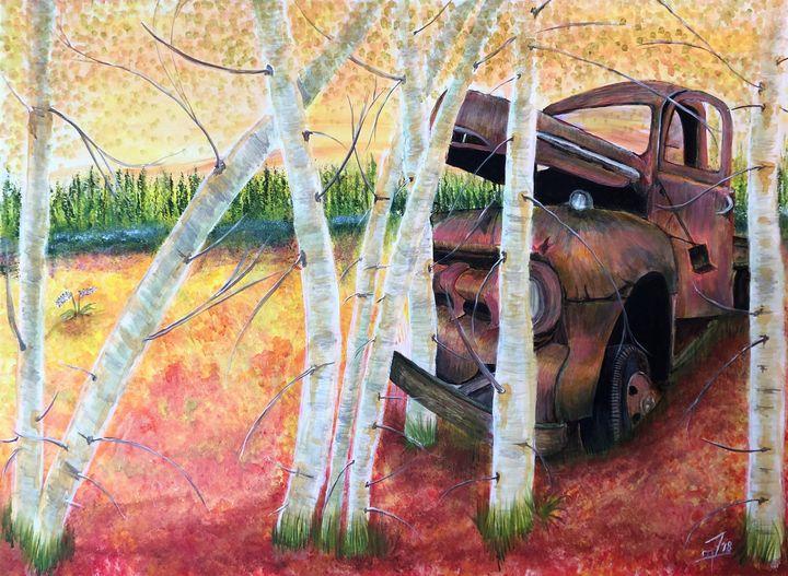 The Truck - Jennifer Lynn - Canadian Artist