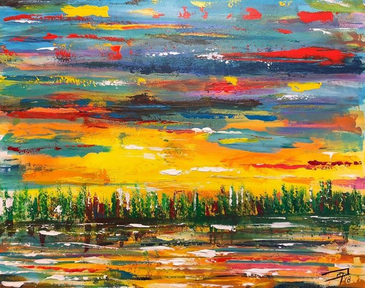 Stolen Sunrise - Jennifer Lynn - Canadian Artist