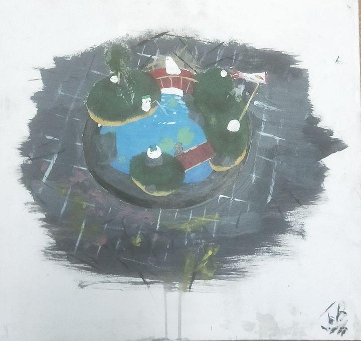 Spirit pond - Jamball art