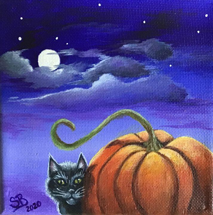 Autumn Kitty - Sandra Bateman