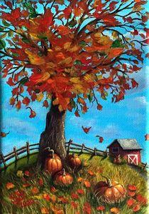 Pumpkin Pickin' Time - Sandra Bateman