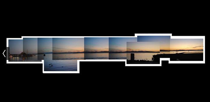 Lake at sunset - Tessa Tomasi