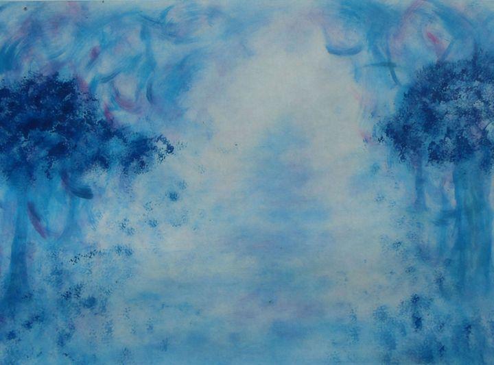 The Blue path - papivart