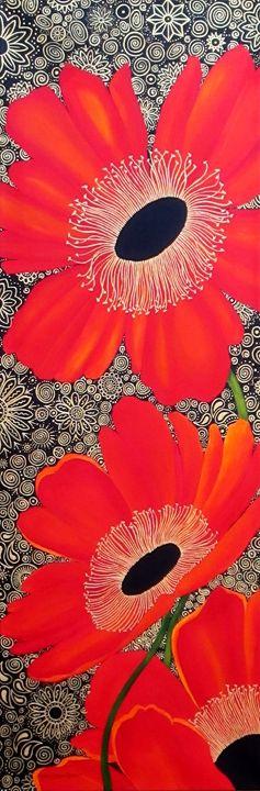 Poppy Bling - Southwest & Florals by Carol