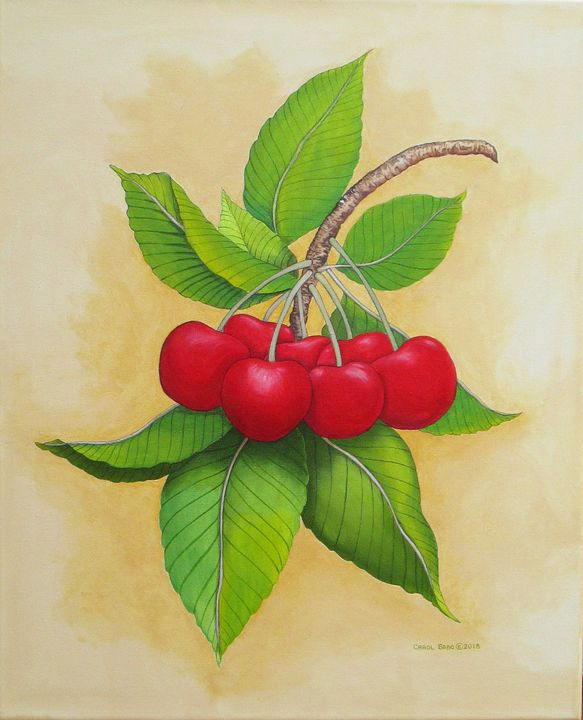 Cherries II - Southwest & Florals by Carol