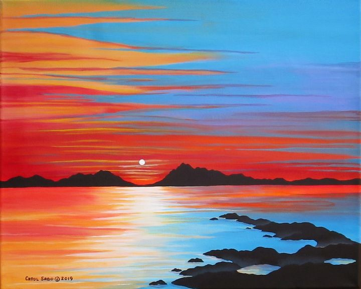 Pacific Sunset - Southwest & Florals by Carol