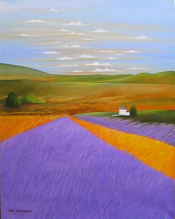 Lavender Fields - Southwest & Florals by Carol