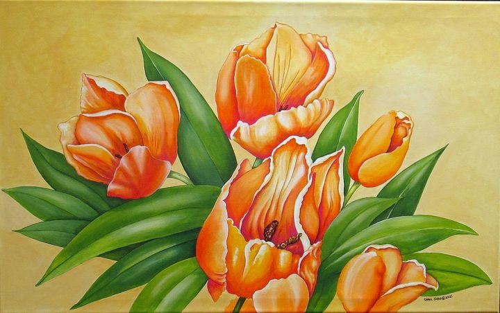 One Is Nearer God's Heart - Southwest & Florals by Carol