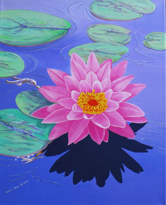Water Lily - Southwest & Florals by Carol