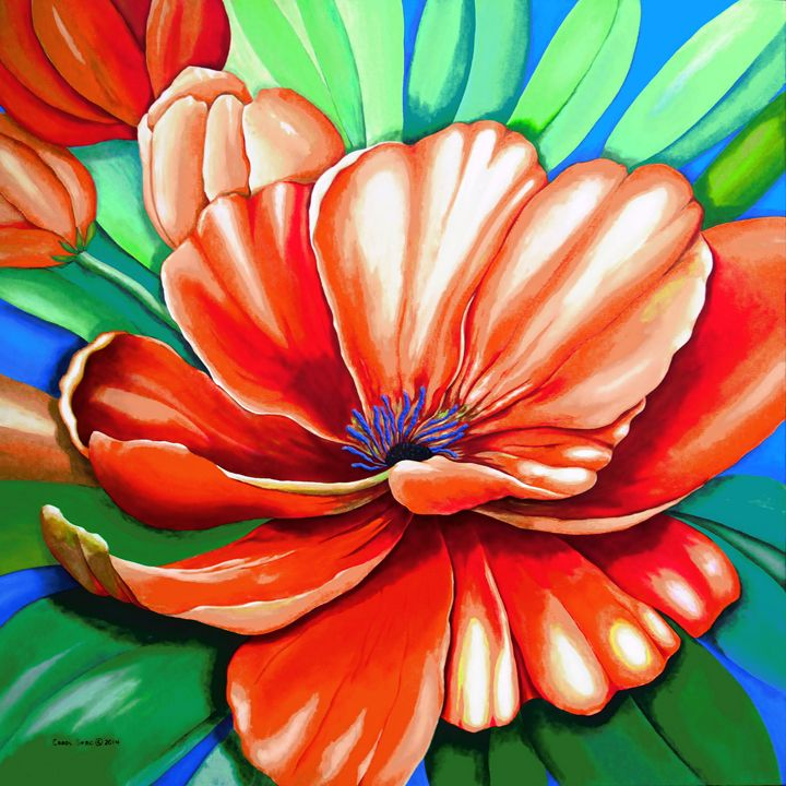 Pick Me Poppy - Southwest & Florals by Carol