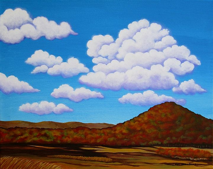 Partly Cloudy - Southwest & Florals by Carol