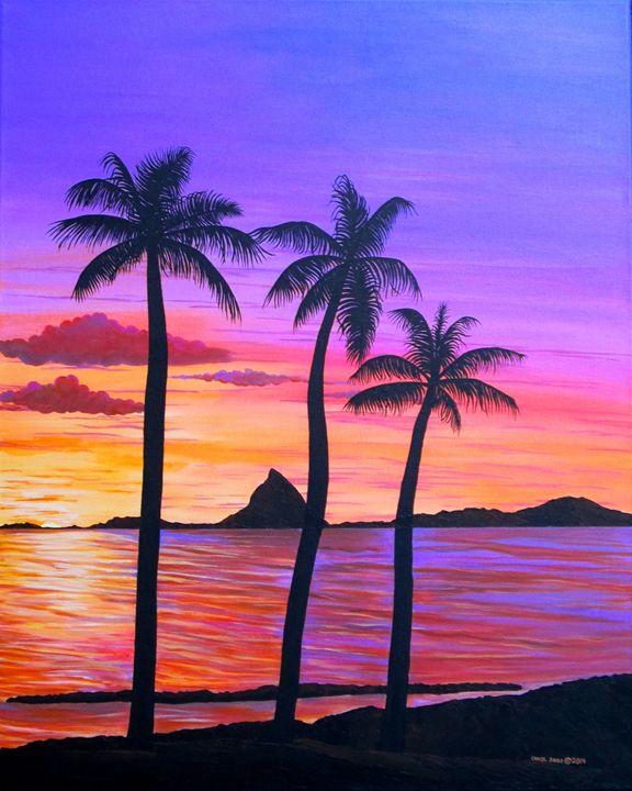 Hawaiian Sunset - Southwest & Florals by Carol