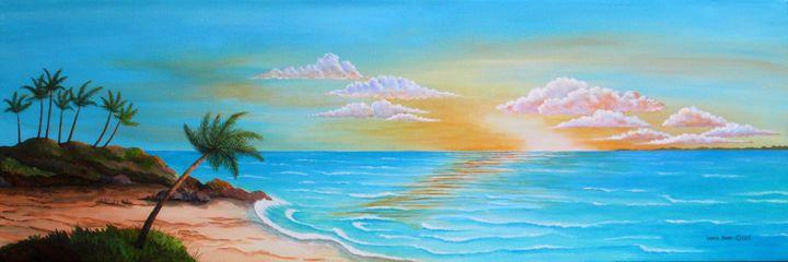 Tropical Sunrise - Southwest & Florals by Carol