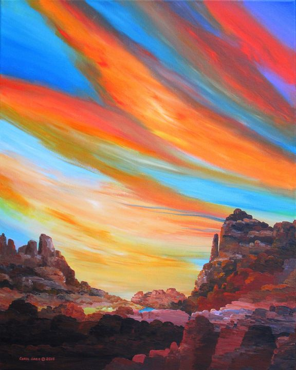 Grand Canyon Sky - Southwest & Florals by Carol