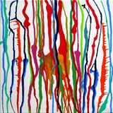 Abstract original on canvas