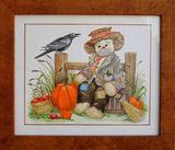 Original Halloween Watercolor