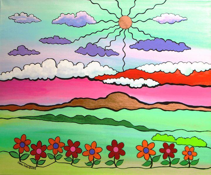 One Fine Day - Southwest & Florals by Carol