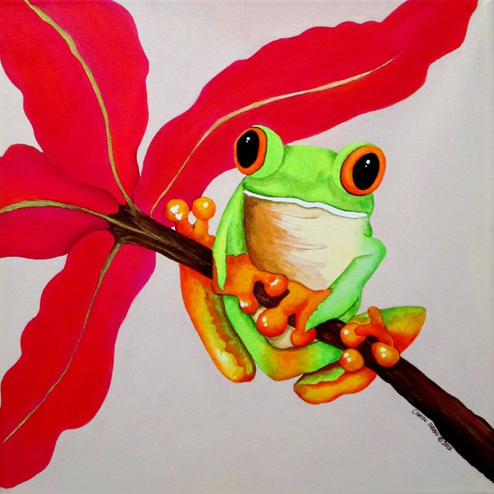 Ribbit - Southwest & Florals by Carol