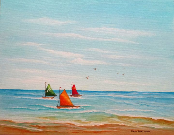 Good Day for Sailing - Southwest & Florals by Carol
