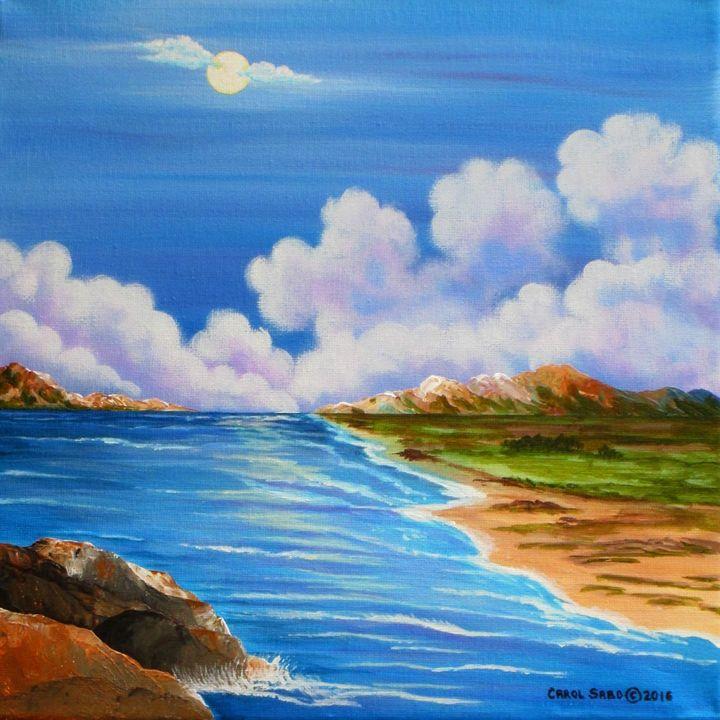 Moon Angel - Southwest & Florals by Carol