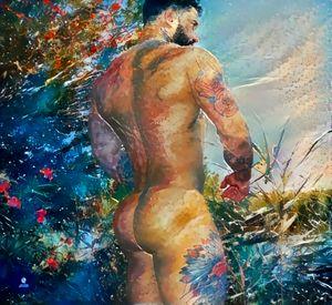 Male Body Summertime Vibes - Ibiza