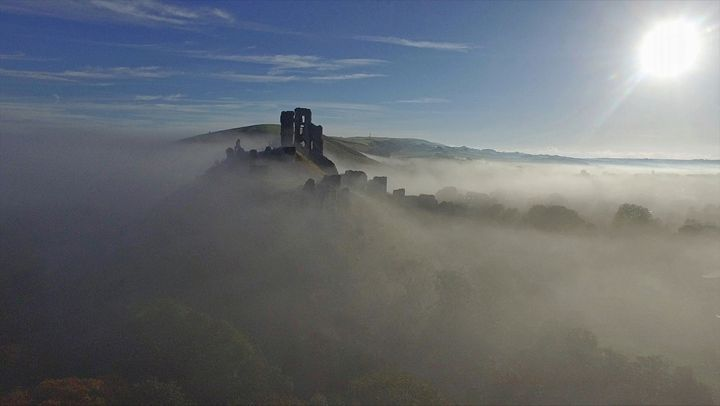 Castle in the mist - Petehazellphotography
