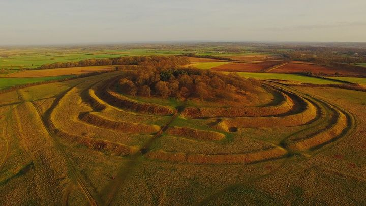 Badbury rings Iron age Hill fort - Petehazellphotography