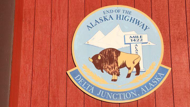 End of Alaska Highway - Adventure Images