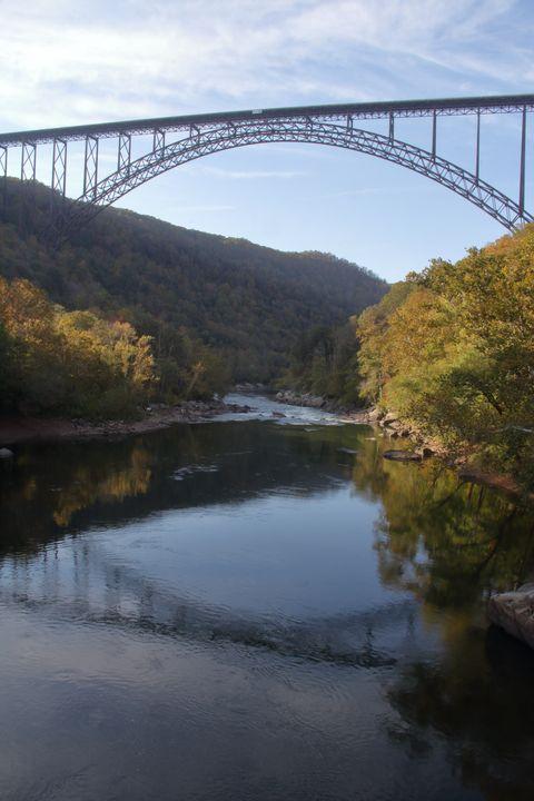 Bridge Reflection - Adventure Images