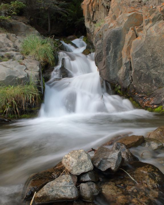 Waterfall at McHugh Creek - Adventure Images