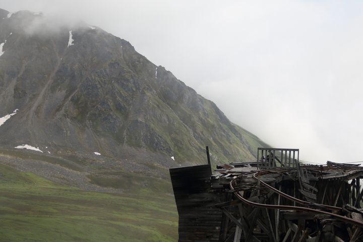 Abandoned Mountain Mine Track - Adventure Images