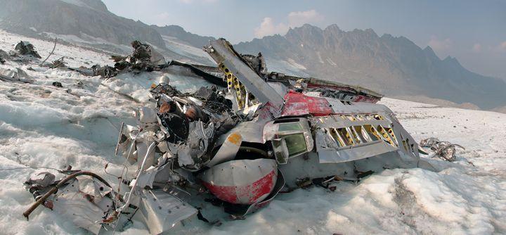 B-29 Wreckage - Adventure Images