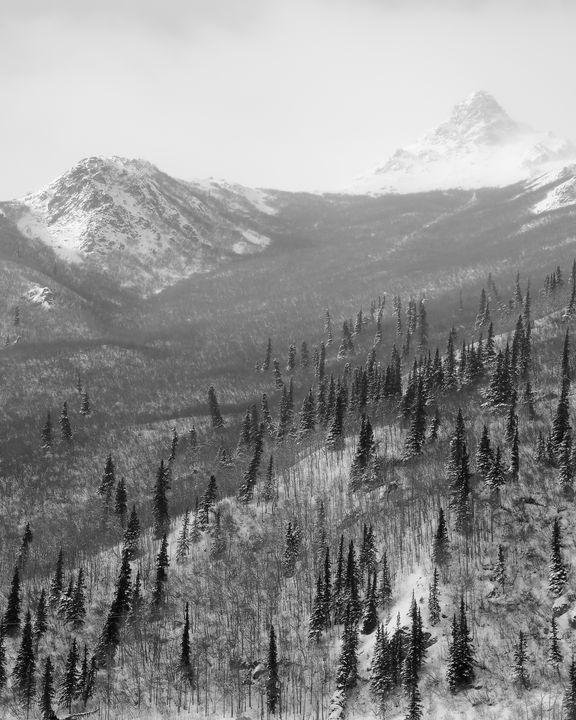 Peak in Black and White - Adventure Images