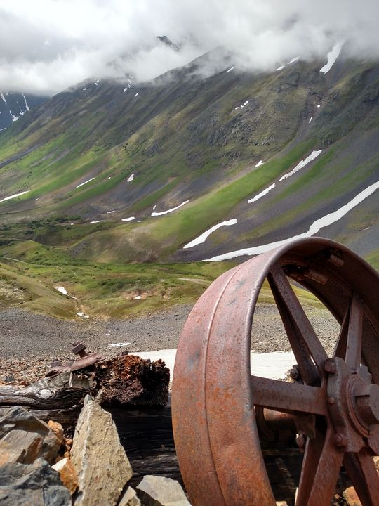 Abandoned Mine Equipment - Adventure Images