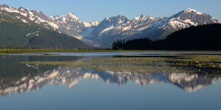Alaska Mountain Reflection - Adventure Images