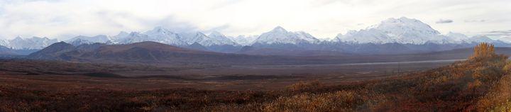 Denali Panorama - Adventure Images