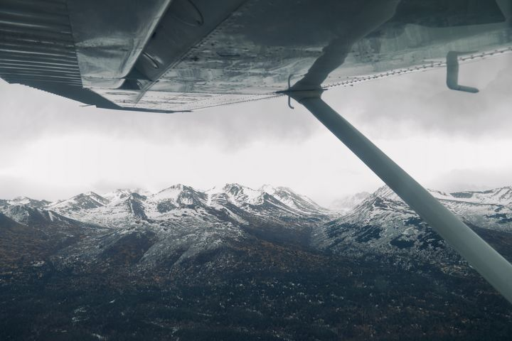 Small Plane Big Mountains - Adventure Images