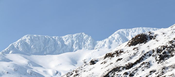 Snow Capped In the Sun - Adventure Images
