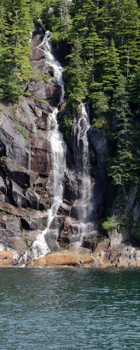 Just A Kenai Fjord Waterfall - Adventure Images