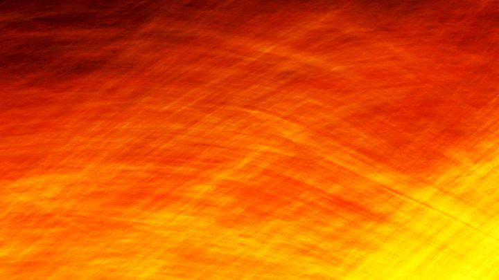 Firey Roadside Abstract - Adventure Images