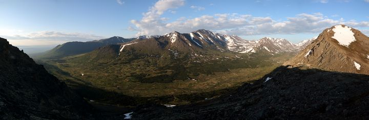Panorama From Flat Top - Adventure Images