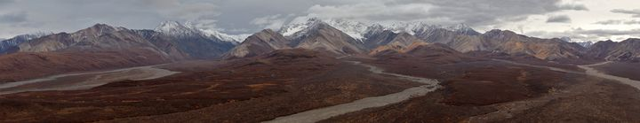 Polychrome Pass Panorama - Adventure Images