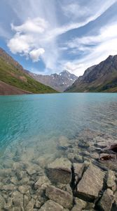 Eagle Lake Vertical Panorama