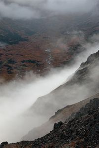 Clouds Rising from the Valley