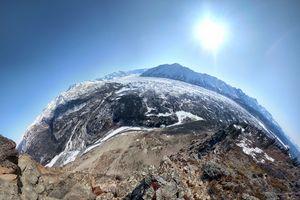 Warped Matanuska Glacier View