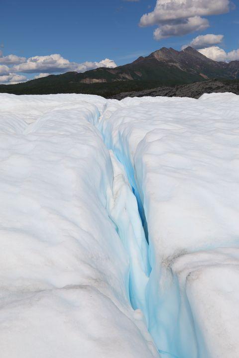 Glacier Blue Refraction - Adventure Images