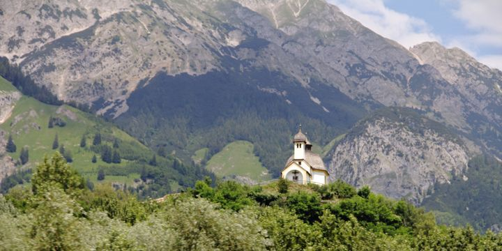Church in the Alps - Adventure Images