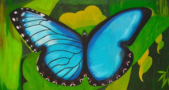 Blue Mariposa - Art by Steven Mark