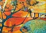 71 x 51  cm medium acrylic painting