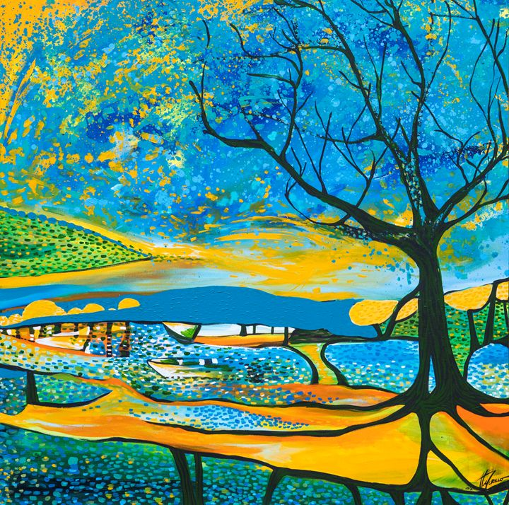 Acercandome al paisaje - Felix Murillo
